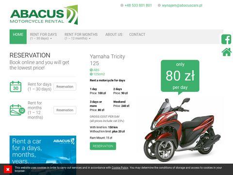 ABACUS Wypożyczalnia motocyklowa