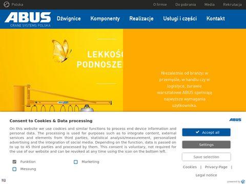 ABUS - suwnice żurawie wciągniki wciągarki