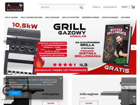 Grille gazowe Activa Grill