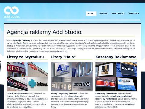 Agencja reklamy Wrocław - addstudio.pl doświadczenie w reklamie