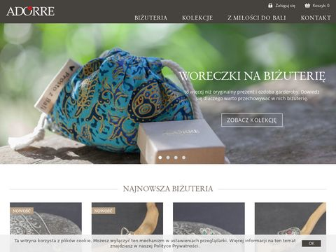 Adorre - srebrna biżuteria inspirowana orientem