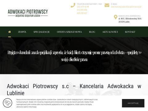 Adwokacipiotrowscy.pl