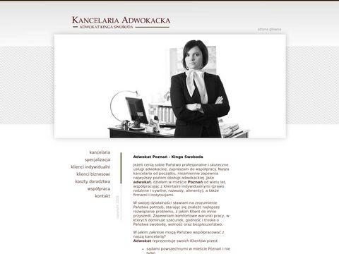 Adwokat-Swoboda.pl - Kancelaria Pozna艅
