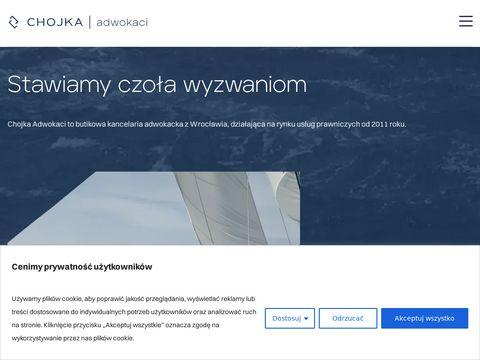 Kancelaria adwokacka Wrocław - Jerzy Chojka