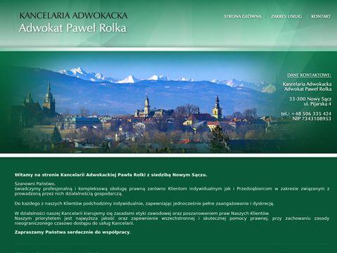 Adwokat Paweł Rolka Nowy Sącz