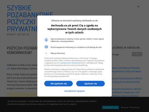 Pożyczki Pozabankowe Dla Zadłużonych z Komornikiem Przez Internet