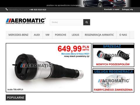 AEROMATIC.PL zawieszenie pneumatyczne AIRMATIC Mercedes-Benz BMW AUDI regeneracja - aeromatic.pl