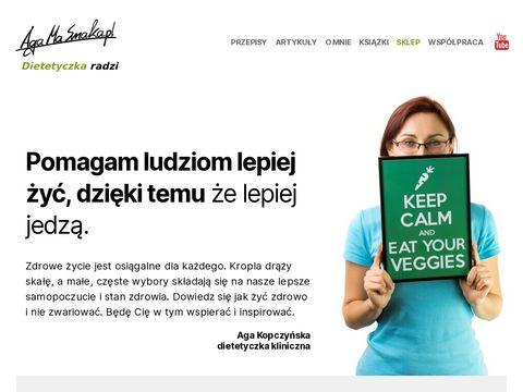AgaMaSmaka.pl - żyj i jedz zdrowo