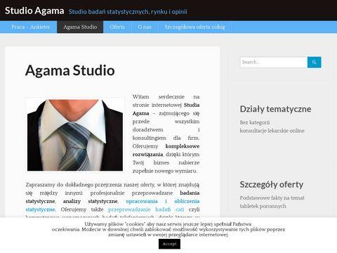 Agama Studio - projektowanie stron internetowych i oprogramowania dla firm