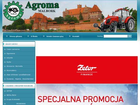 Agroma Malbork, maszyny rolnicze, ciÄ™gniki Zetor, Ursus, sprzÄ™t rolniczy
