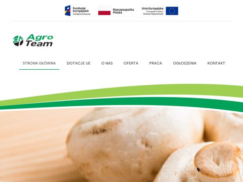 AGRO TEAM sprzedaż pieczarek producent