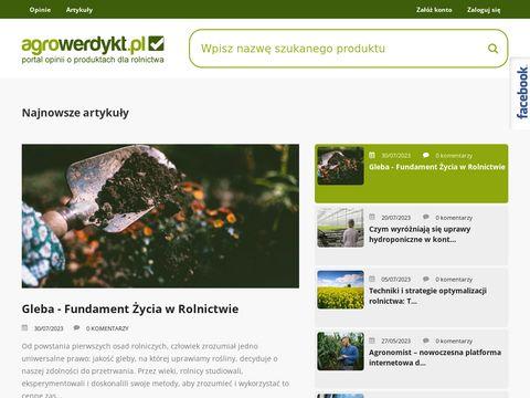 AgroWerdykt - portal dla każdego rolnika