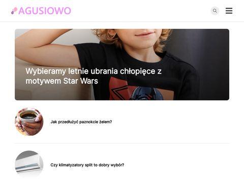 Odzież dla dzieci - Sklep Agusiowo