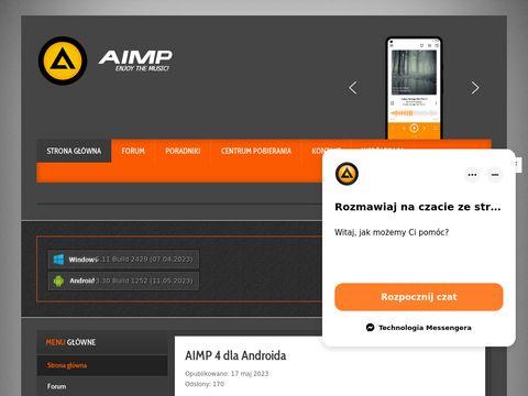 AIMP.com.pl - Polski Oficjalny Support AIMP