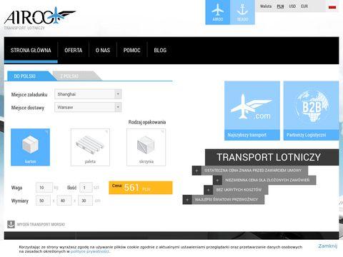 Airoo.com | Transport lotniczy, najlepszy przewoźnik, spedycja jest łatwa