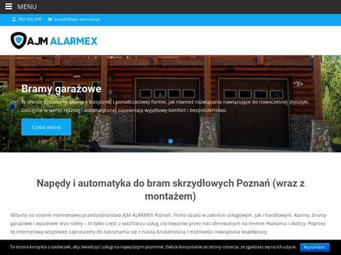 AJM Alarmex - Alarmy, monitoring, domofony