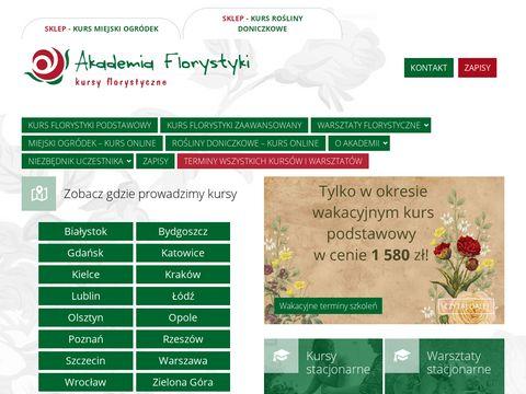 Akademia Florystyki - kursy florystyczne dla ka偶dego