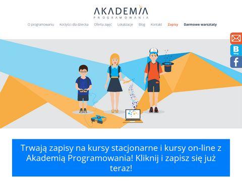 Www.akademiaprogramowania.pl - p贸艂kolonia w krakowie