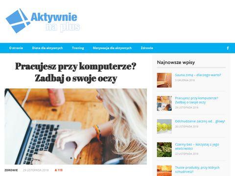 Aktywnienaplus.pl zdrowe odżywianie