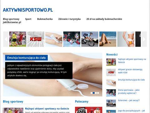 Aktywni sportowo - blog sportowy