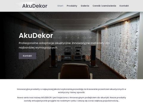 Akudekor.pl - panele akustyczne