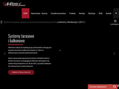 Www.alchimica.com.pl renowacja nieszczelnych