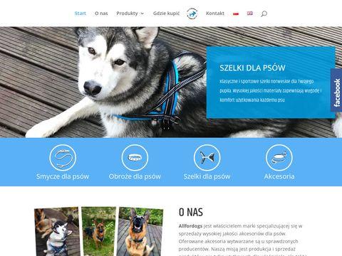 Producent akcesoriów dla psów All for dogs