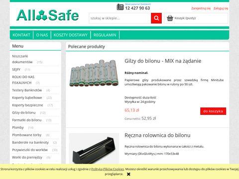 AllSafe - bezpieczeństwo i finanse w Twoich rękach