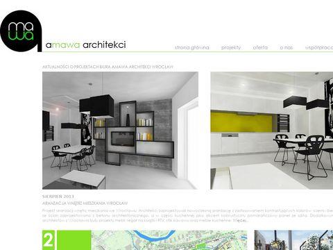 Amawa architekci-architekt wroc艂aw