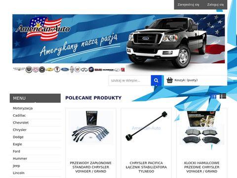 Nowe części do samochodów z USA - części samochodowe do aut z Ameryki.