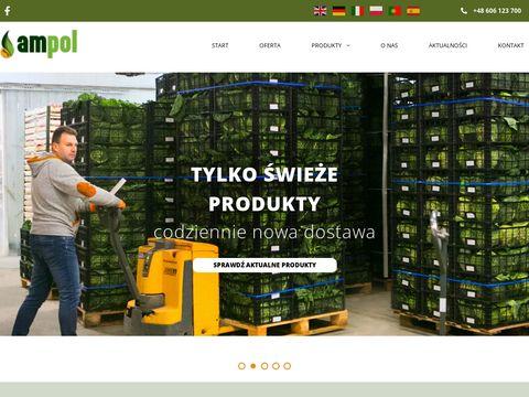 Importer owoców i warzyw, Hurtownia warzyw i owocó
