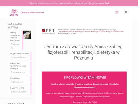 Fizjoterapia Anies w Poznaniu