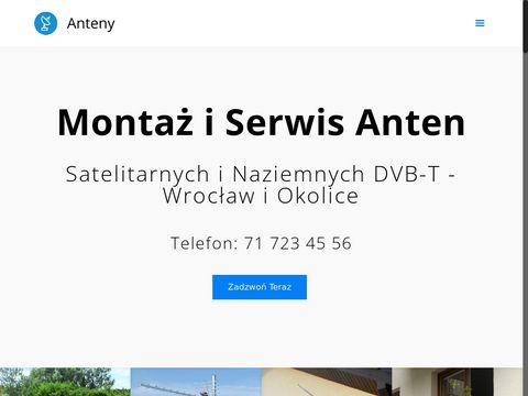 Anteny Wrocław - Montaż i Serwis