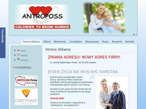 Antropos - opieka nad osobami starszymi
