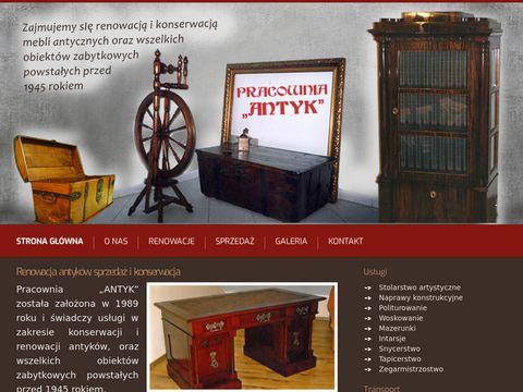 Renowacja antyków – profesjonalna konserwacja – antykikrapkowice.pl