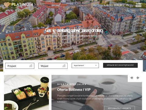 Apartamenty w Szczecinie - www.apartamenty-platinum.pl