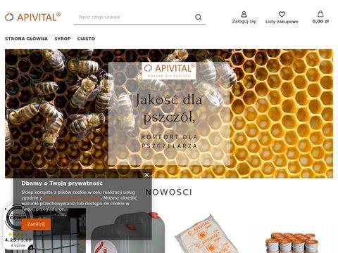 Pokarm w płynie dla pszczół APIVITAL® syrop