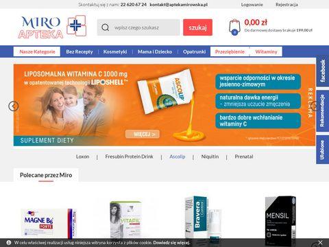 MIRO APTEKA suplementy diety online
