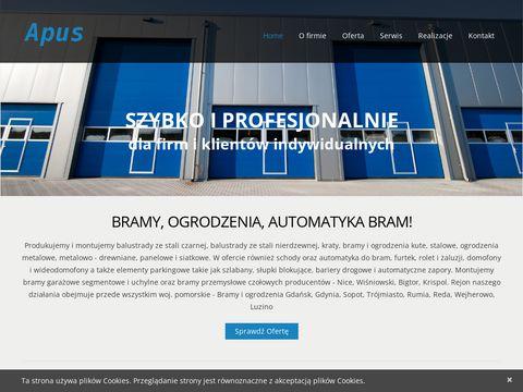 APUS - Bramy garażowe Gdynia