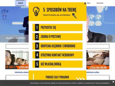 Szkolenia unijne i biznesowe - Arbiz