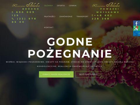 Www.arkadia-kwiatynapogrzeb.pl