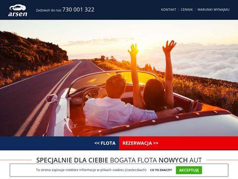 Wynajem samochod贸w - arsen.net.pl