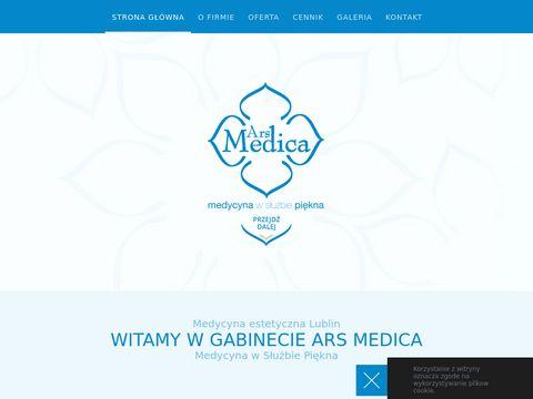 Laserowe zamykanie naczynek - ARS Medica
