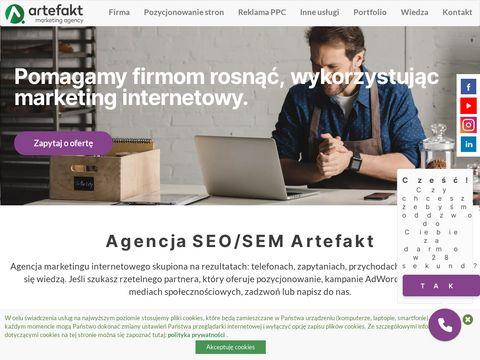 Artefakt | Agencja SEO/SEM