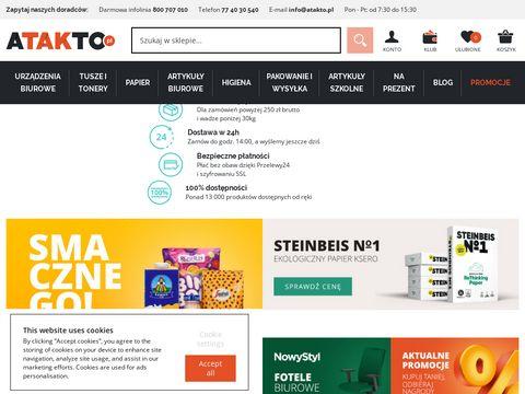 Artyku艂y biurowe, szkolne - wyposa偶enie i akcesoria - Atakto.pl