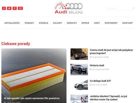 Audi-blog.pl - blog samochodowy