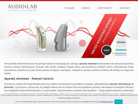 Badanie słuchy, aparatu słuchowe - AudioLab Poznań