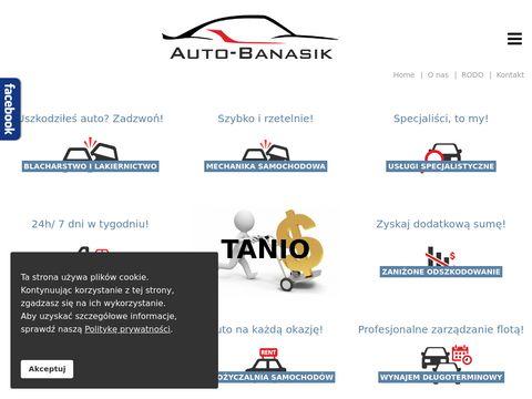 Blacharswo i lakiernictwo Auto-Banasik