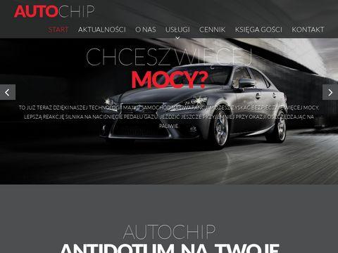 AUTOCHIP Chiptuning Poznań, zwiększanie mocy silnika, ekotuning, podnoszenie mocy