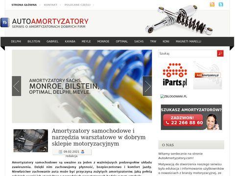 AutoAmortyzatory.com - wybierz najlepszy amortyzator